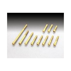 Vivid bolts Gold 24K from Kitaco for Honda Clutchcase