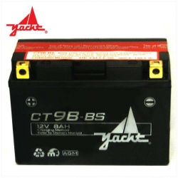 Batterie CT9B-BS YT9B-BS T-MAX 150X69x105mm