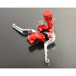 Leviers CNC universels Rouge-alu
