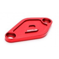 Oil pump cover for Derbi and Minarelli AM6 engine red