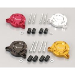 Honda MSX 125 cc starter cover by Kitaco black - red - gold or silver anodised