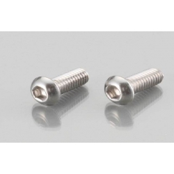 Button Head Cap Bolts Stainless M6 P 1.0