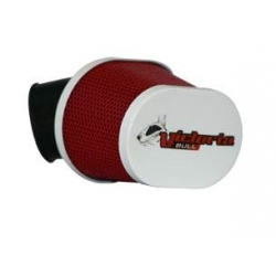 Luchtfilter Victoria Bull dia 35mm rood wit