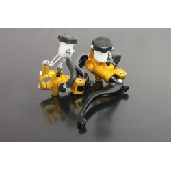 Leviers Racing radiaux universels gold double hydraulique