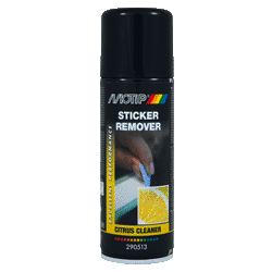 Spray Motip détachant autocollant sticker remover