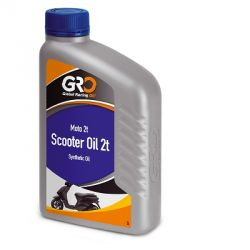Huile 2Temps G-R-O Racing oil synthétique