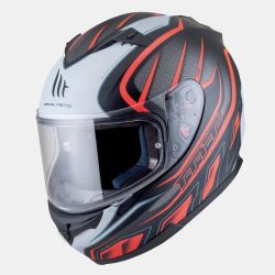 Casque MT BLADE ALPHA Noir & Orange