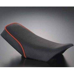 Selle G-craf type MX noir piping rouge