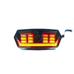 R7 leds Taillight for Honda MSX - GROM 125 with scrolling winker function