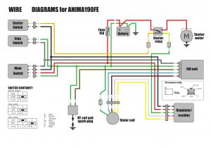Wire diagrams for Anima 190 with electric...