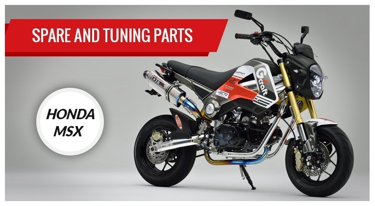 Racing and spare parts for Honda MSX